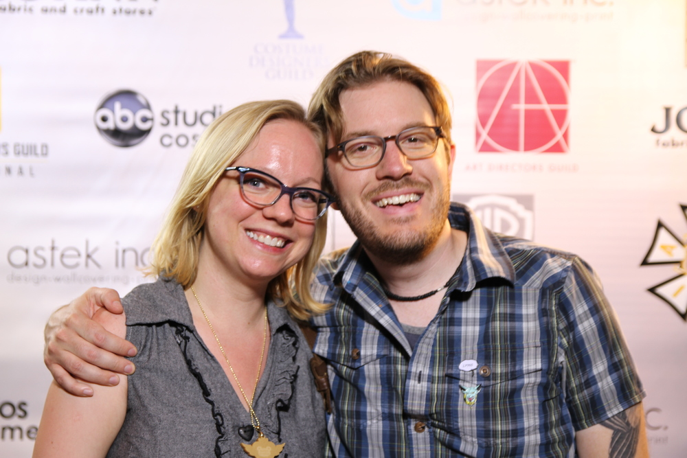 My husband Max and I at the union mixer party. It was lots of fun!  Photo by  Sean Kinney