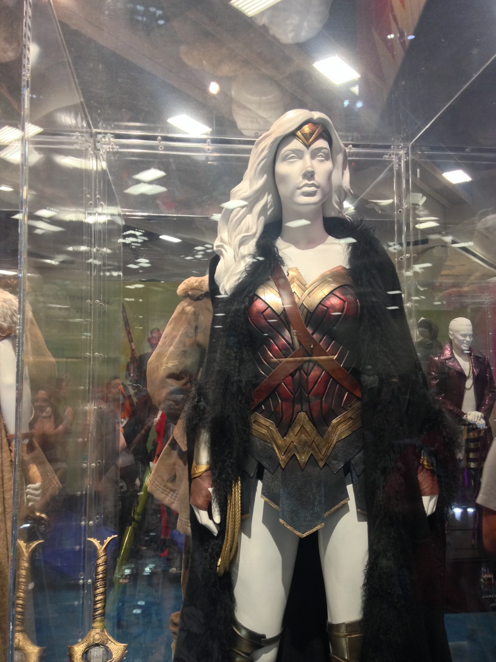 Wonder Woman - DC comics booth  Designed by Michael Wilkinson   Photo by Max Lawson