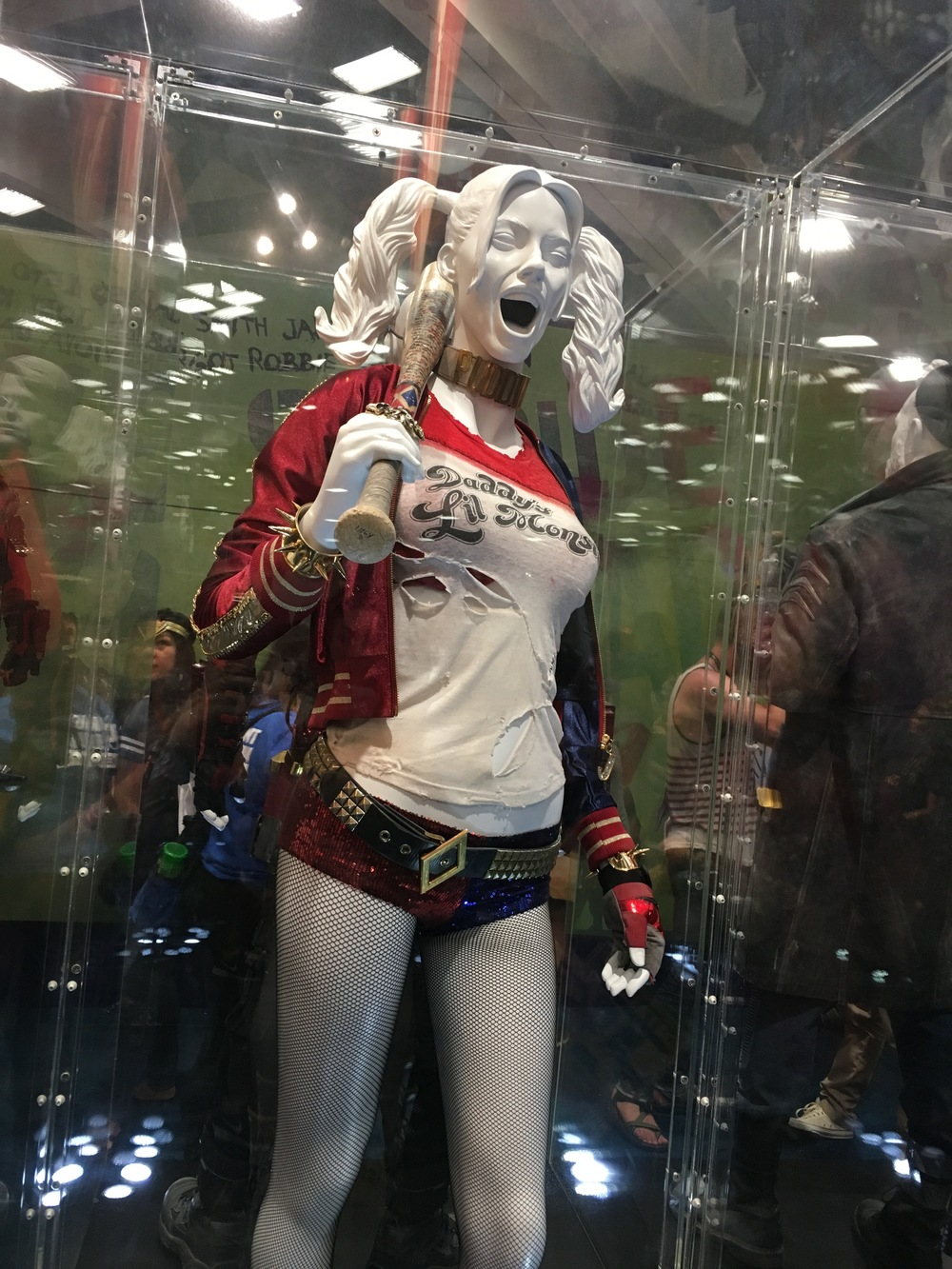 Harley Quinn- Dc Comics booth  Designed by Kate Hawley  Photo by Max Lawson