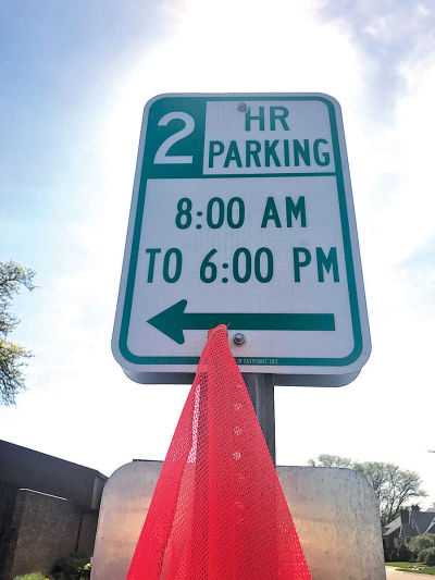 Eastpointe To Keep 2 Hour Parking Limit Signs At 5 Spaces Near Library