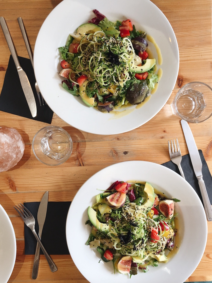 Ayurvedic Super Salad at Wild Food Cafe in Covent Garden