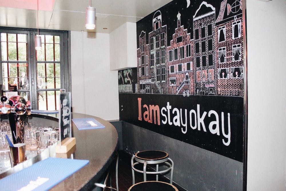 Cozy bar at Stayokay Vondelpark!