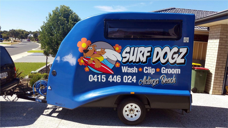 cf1afe7a9d Surf Dogs SignColour - Sign Colour - Sign Adelaide - Signage Adelaide -  Vehicle Signage Adelaide