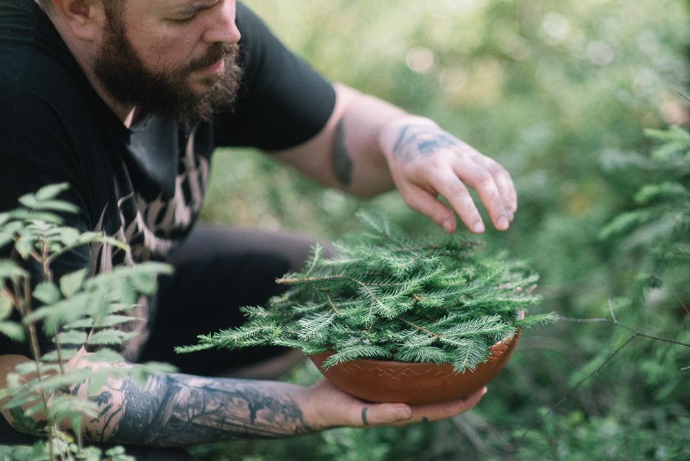 """Arī ikdienas braucieni uz mežu vai pļavu pieder pie Dzintara """"darba"""". Mežs ir viņa iedvesma, viņa svētnīca un oāze tuksnesī."""