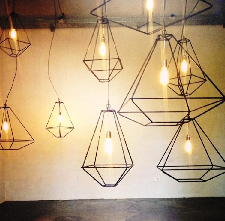 LAMPADARI IN FERRO - NOSTRA CREAZIONE -
