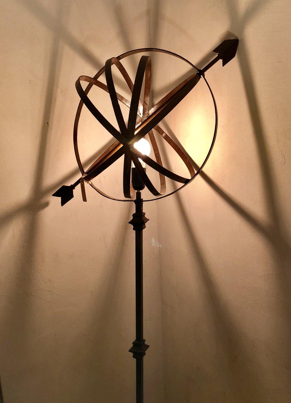 LAMPADA DA TERRA - ASTROLABIO