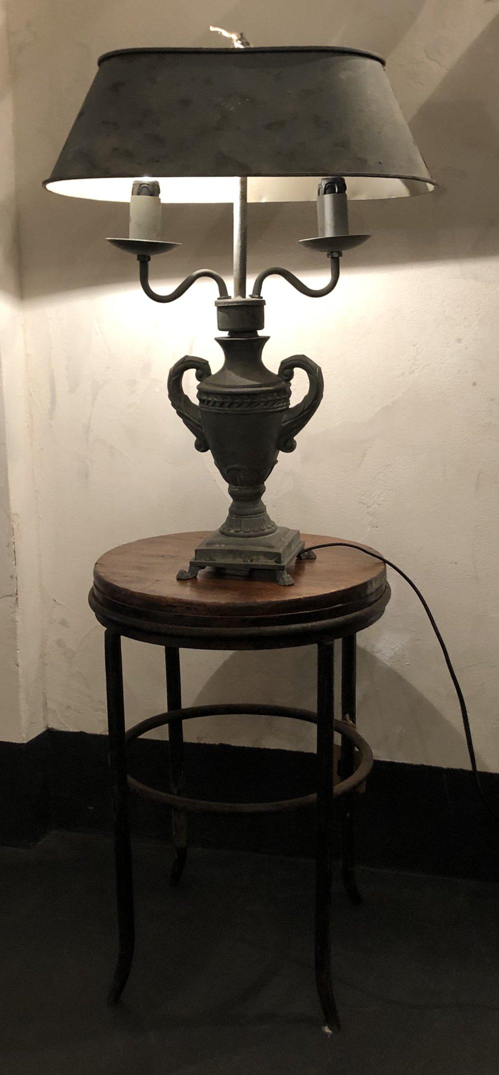 LAMPADA IN ZINCO