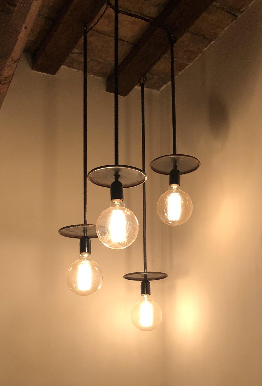 LAMPADE IN FERRO - NOSTRA CREAZIONE -