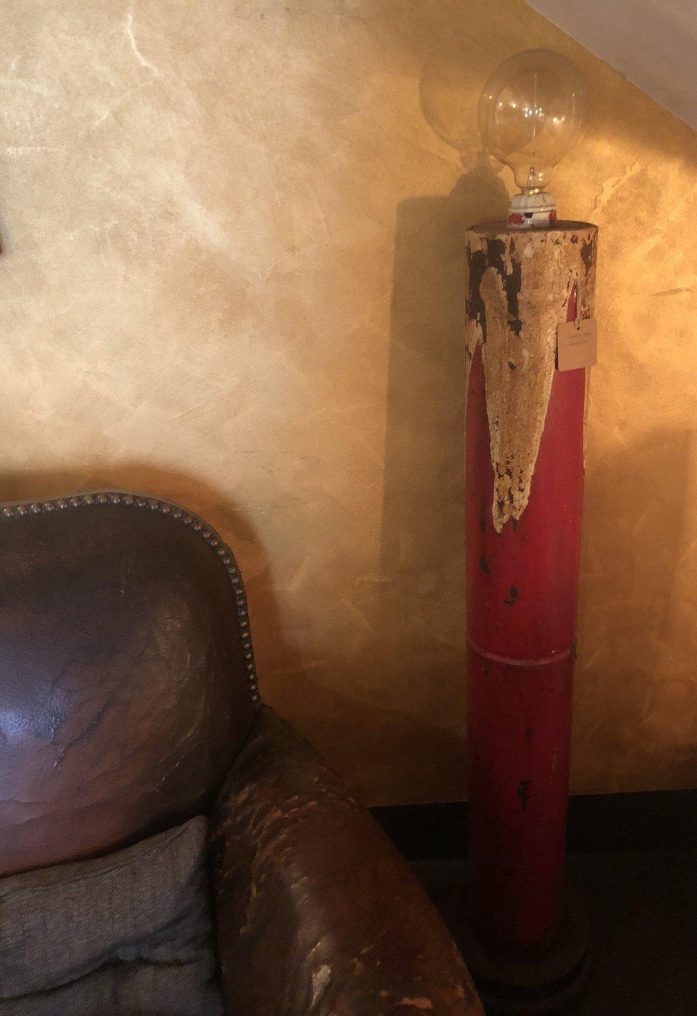LAMPADA IN FERRO AMERICANA