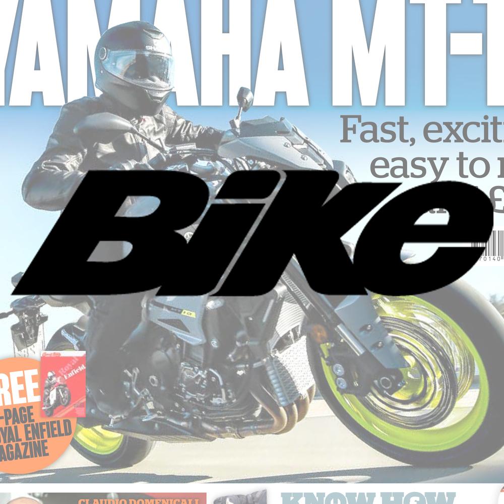 Bike magazine Britain's best selling motorcycle magazine. Demographic: 67% ABC1 -93% Male -Av. age 49