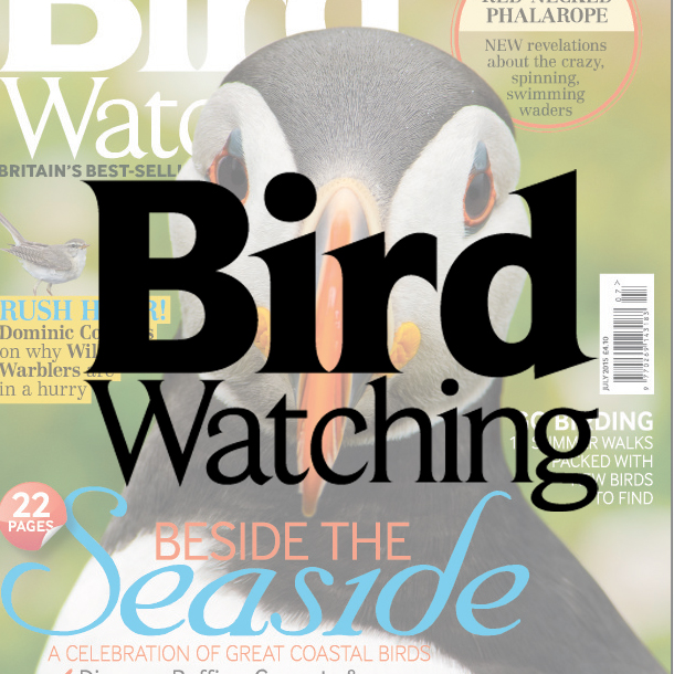 Bird Watching magazine Sharing passion for wild birds with brilliant photography, exciting locations and all of the latest bird sightings. Demographic: 76% ABC1 - 77% Male - Av. age 57