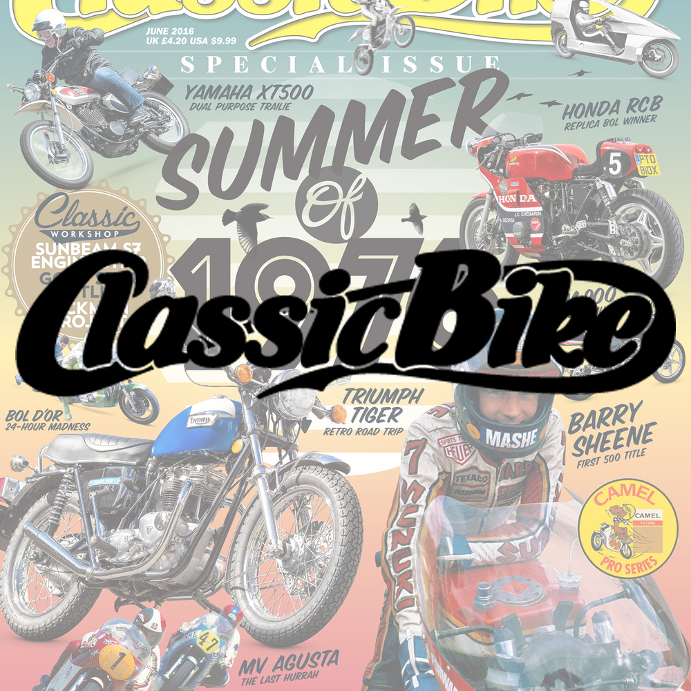 Classic Bikes magazine Packed full of great bikes, rebuild projects, practical workshop tips. Demographic: 64% ABC1 - 99% Male - Av. age 55