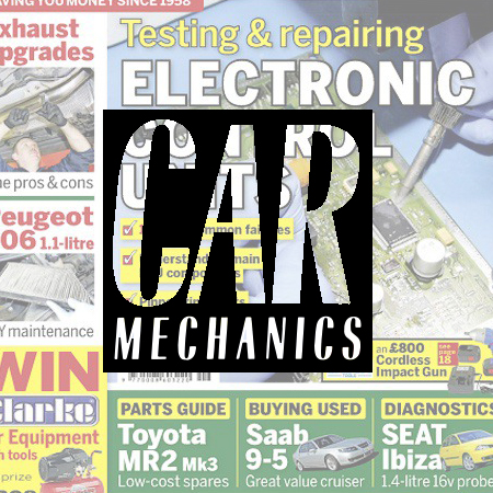 Car Mechanics An invaluable motoring resource for both the DIY car enthusiast and motoring trade alike. Demographic: 69% ABC1 - 94% Male - Av. age 52
