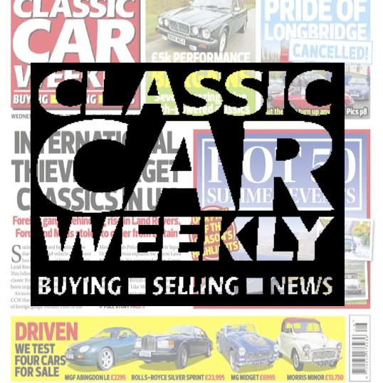Classic Car Weekly newspaper The no.1 newspaper for buying, selling and classic car news. Packed with hundreds of classic cars and parts for sale every week plus the news stories that matter to real enthusiasts. Demographic: 78% ABC1 - 92% Male - Av. age 56