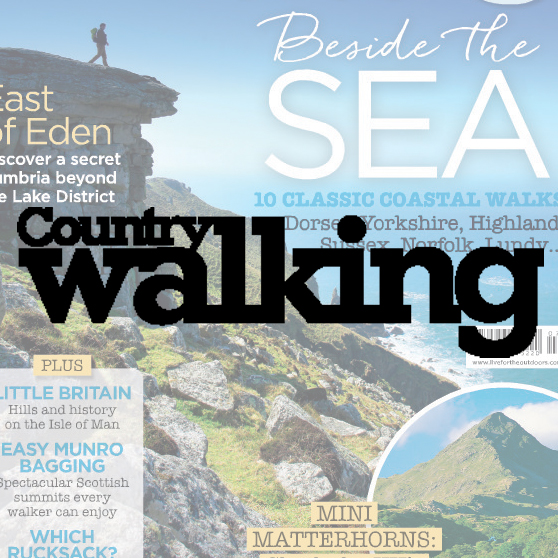 Country Walking magazine Celebrates a passion for walking, with stunning photography, great writing, and practical advice. Demographic: 76% ABC1 - 65% Male - Av. age 53