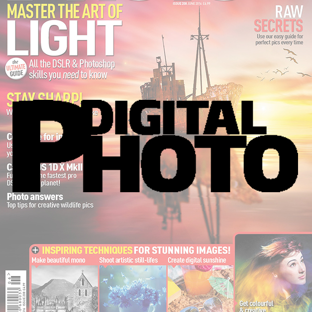 Digital Photo magazine The first choice for photographers looking to improve their photography skills. Demographic: 75% ABC1 - 81% Male - Av. age 58