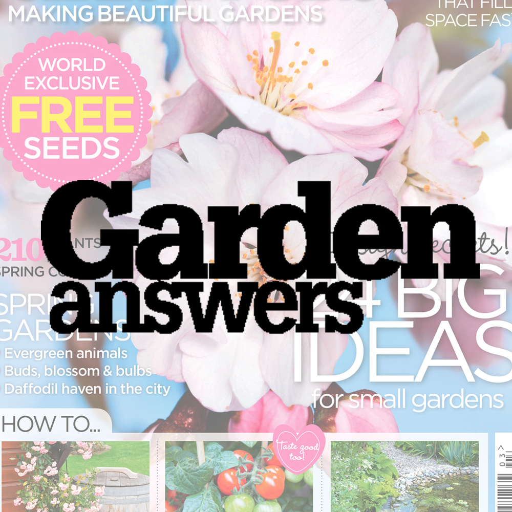 Garden Answers magazine Inspires, encourages and helps everyone get the most out of their garden. Demographic: 65% ABC1 - 65% Female - Av. age 60