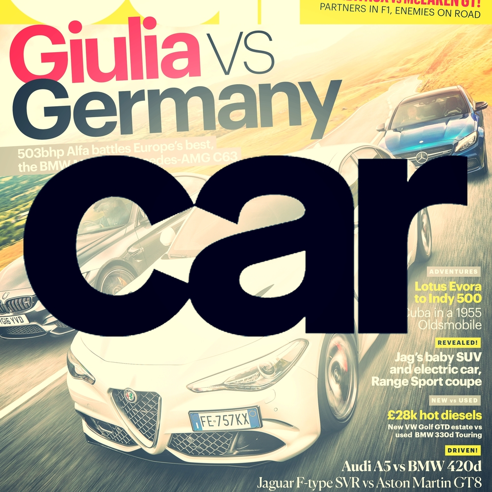 CAR magazine CAR gets in the driver's seat of the most exotic and exciting new cars on the planet. From definitive tests of the new cars to epic driving adventures across the world. Demographic: 91% ABC1 - 98% Male - Av. age 44