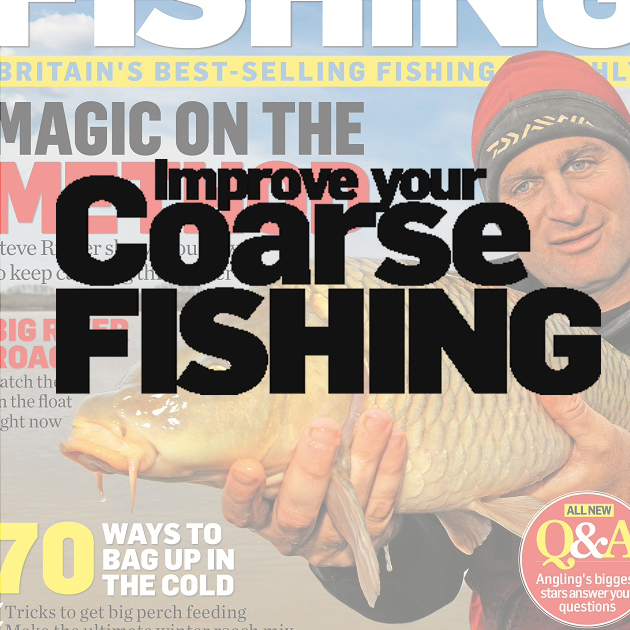 Improve Your Coarse Fishing magazine Detailing the latest tactics from the nation's top anglers. Demographic: 41% ABC1 - 98% Male - Av. age 51