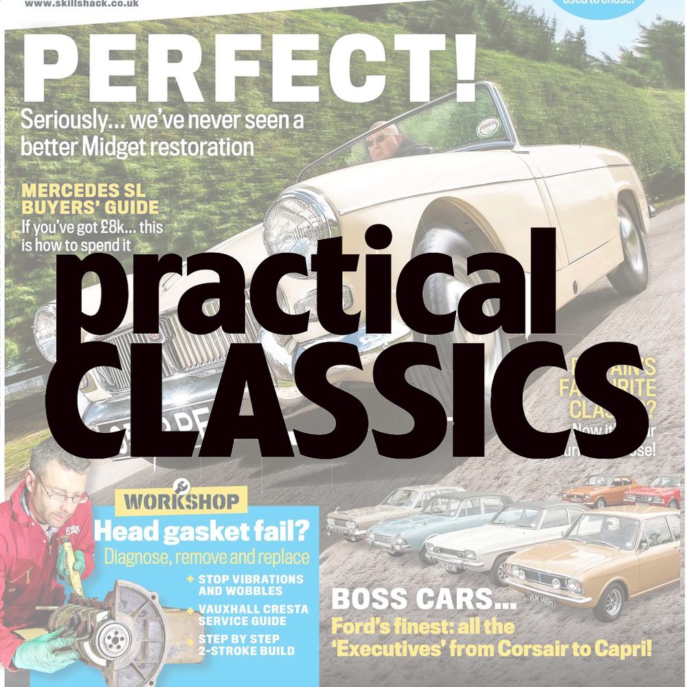 Helping readers get the most out of their classic car The writing team runs it's own workshop and restores project cars, which makes the magazine uniquely hands-on. Practical Classics has been providing help and inspiration for over 27 years.  Demographic: 72% ABC1 - 98% Male - Av. age 53
