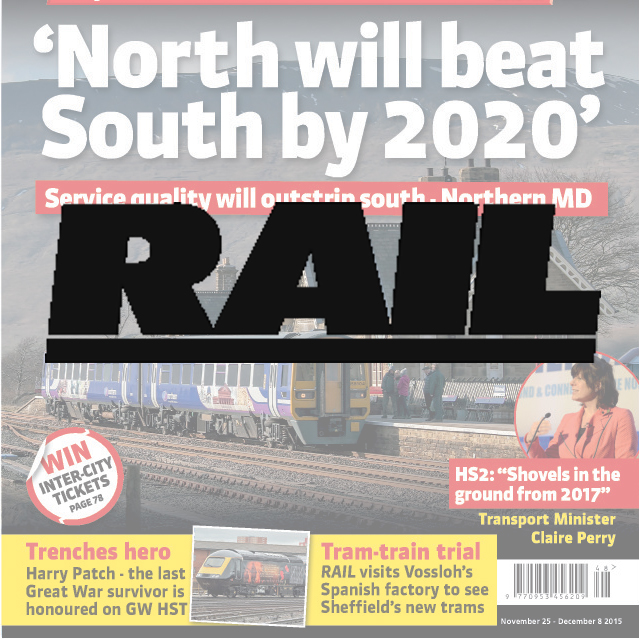 The voice of the rail industry. Rail brings the most up-to-date news, comment and analysis, which is unbiased, informed and candid.  Demographic: B2B title..