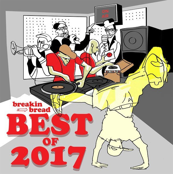 Breakin Bread's best of 2017 radio show is up on iTunes and Mixcloud. The boys pick the best of 2017 crop #vinyl #soul #funk #disco #hiphop #jazz #dopeness Artwork by yours truly.