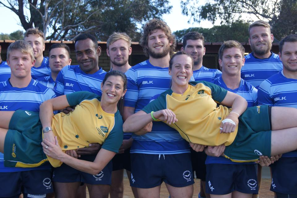 Cott Women Playing for Australian Rugby