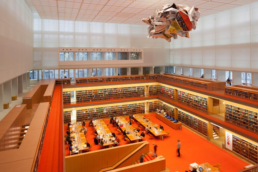 Olaf Metzel - Noch Fragen? - 2013 - Staatsbibliothek zu Berlin