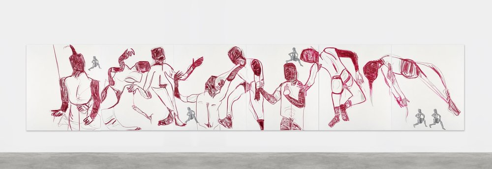 Melike Kara, Turkish Delights, 2016 180 x 900 cm