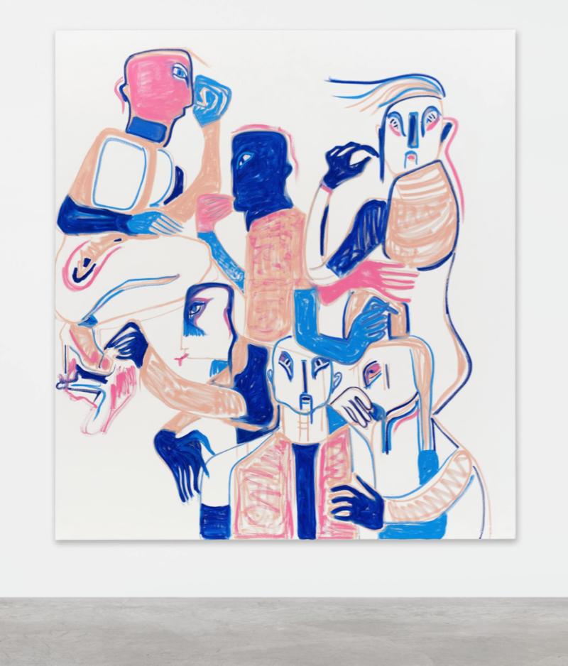 Melike Kara,  (Liebling's) little tent , 2016   200   x 180   cm