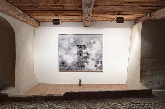 Ever since we crawled out - Julian Charrière @galerietschudi #zuoz #art #juliencharriere #engadin #backtowork #hellomunich