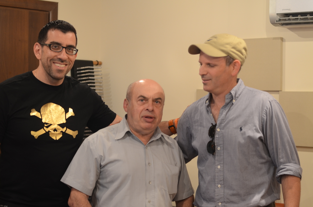 Mitch Clyman, Natan Sharansky and Director Shlomo Blass
