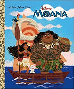I would never have thought to compare two different prose renditions of  Moana , but seriously, this would actually be worth doing when it comes to these two versions. Night and day.