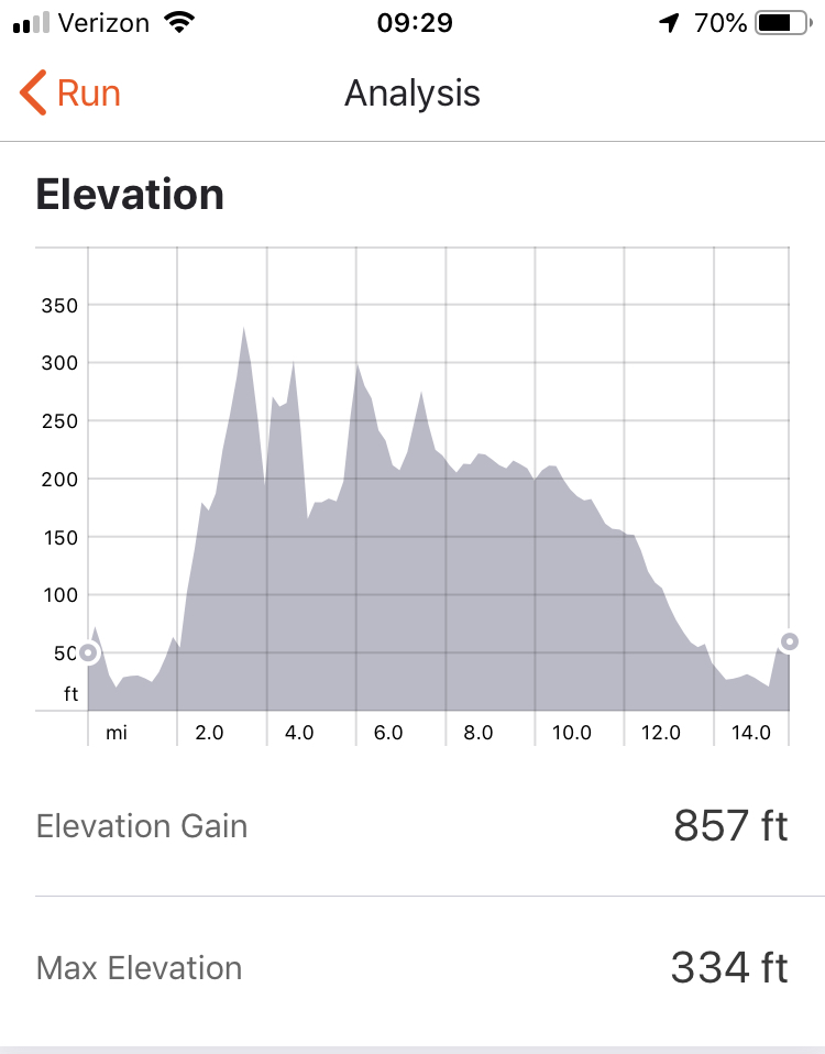 That first big rise from just before mile 4 to just before mile 4 is Gray Street in Arlington.