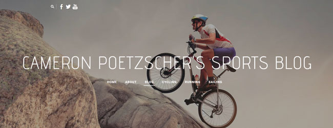 Cameron Poetzscher - Cycling Blog