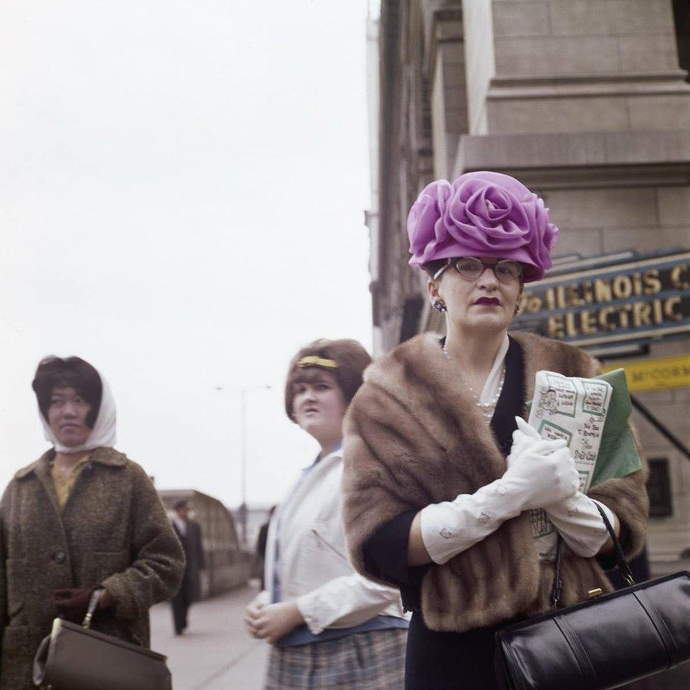 Vivian Maier, Chicago 1962