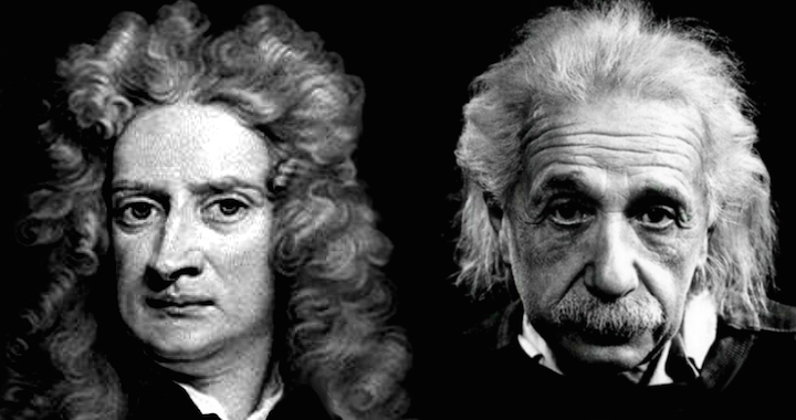 Newton & Einstein