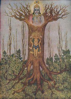 Modern Hindu art.