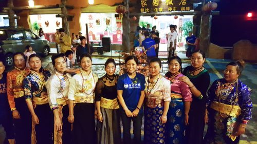 The Qiang ladies who sang and danced for my 48th birthday.