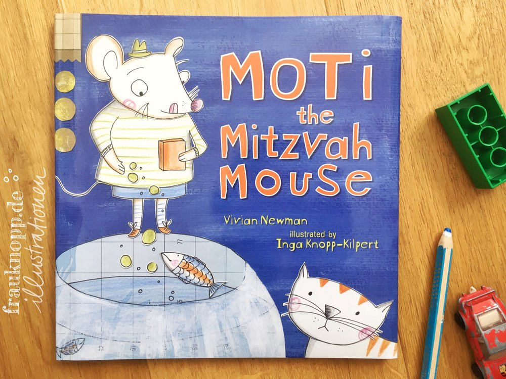 Book Cover for Moti the Mitzvah Mouse KAR-BEN publishing