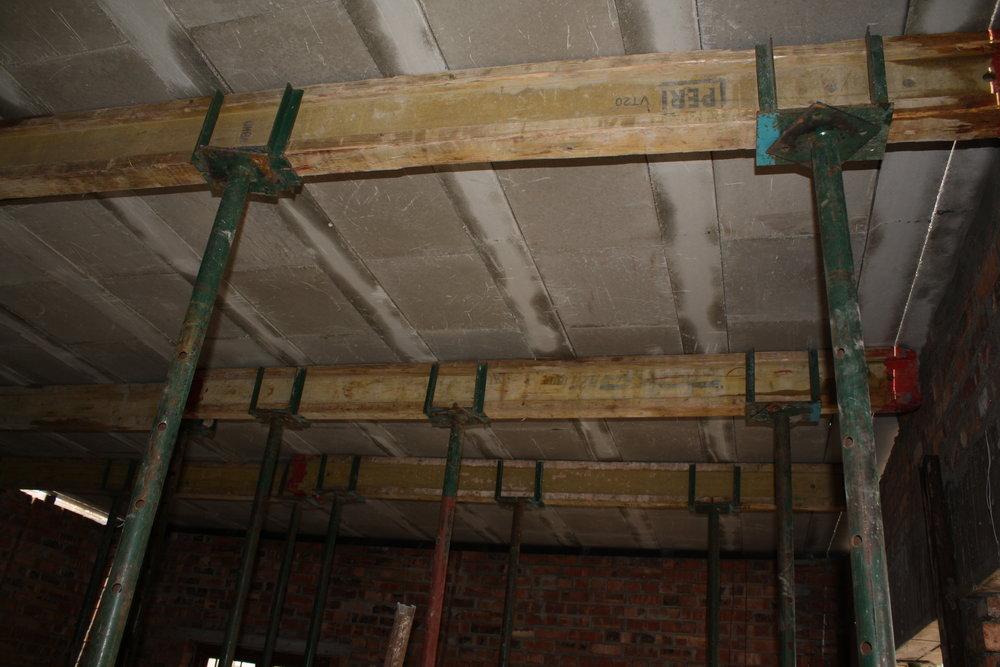 precast concrete slab installed_Cobute