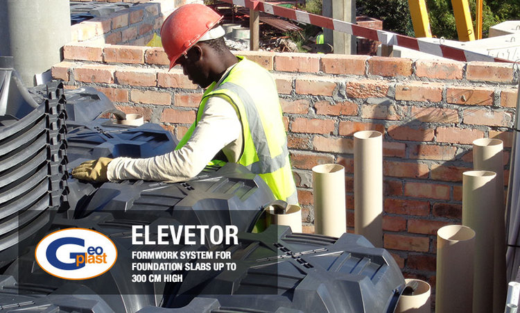 New Elevetor is a formwork system for foundation slabs