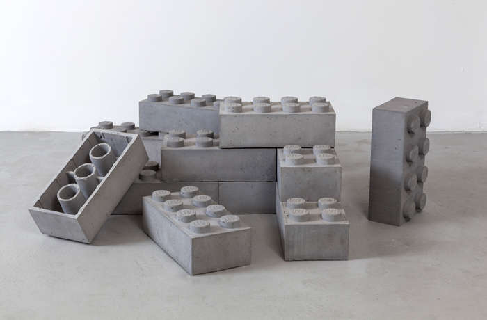 Concrete Lego. Source:    TrendHunter
