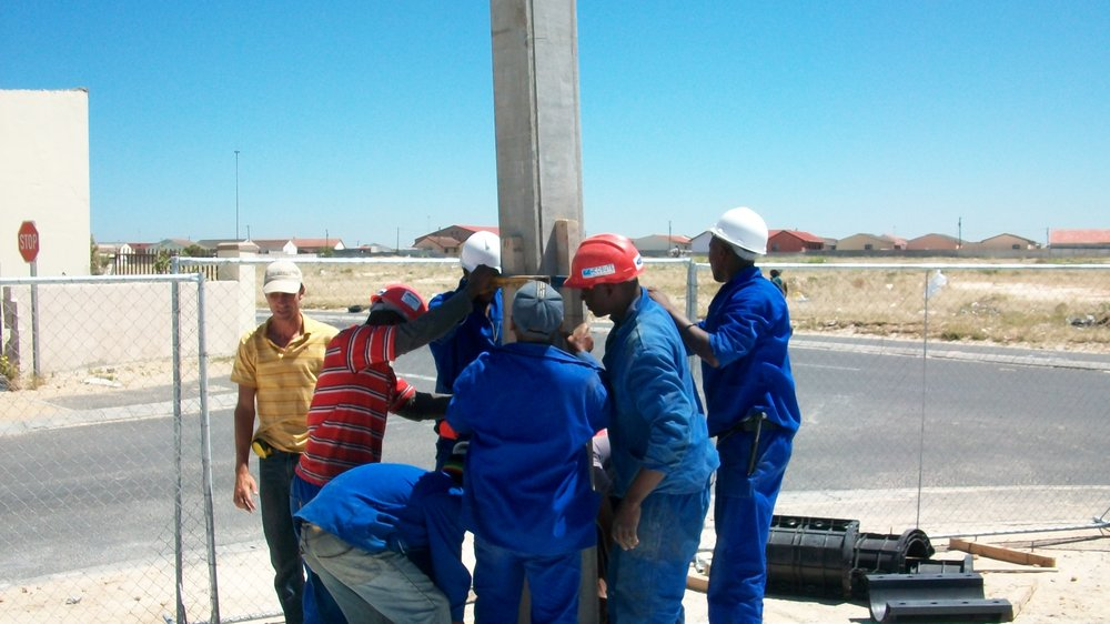 The Cobute precast system is labour intensive and includes transfer of skills in communities.JPG