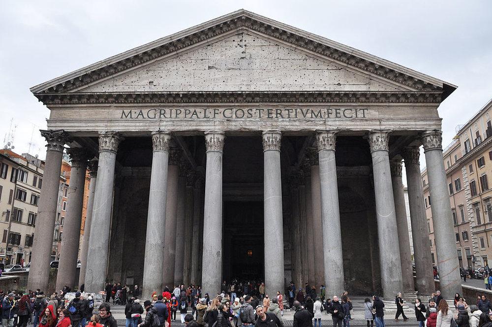 Pantheon, Rome. Credit: Wikipedia.