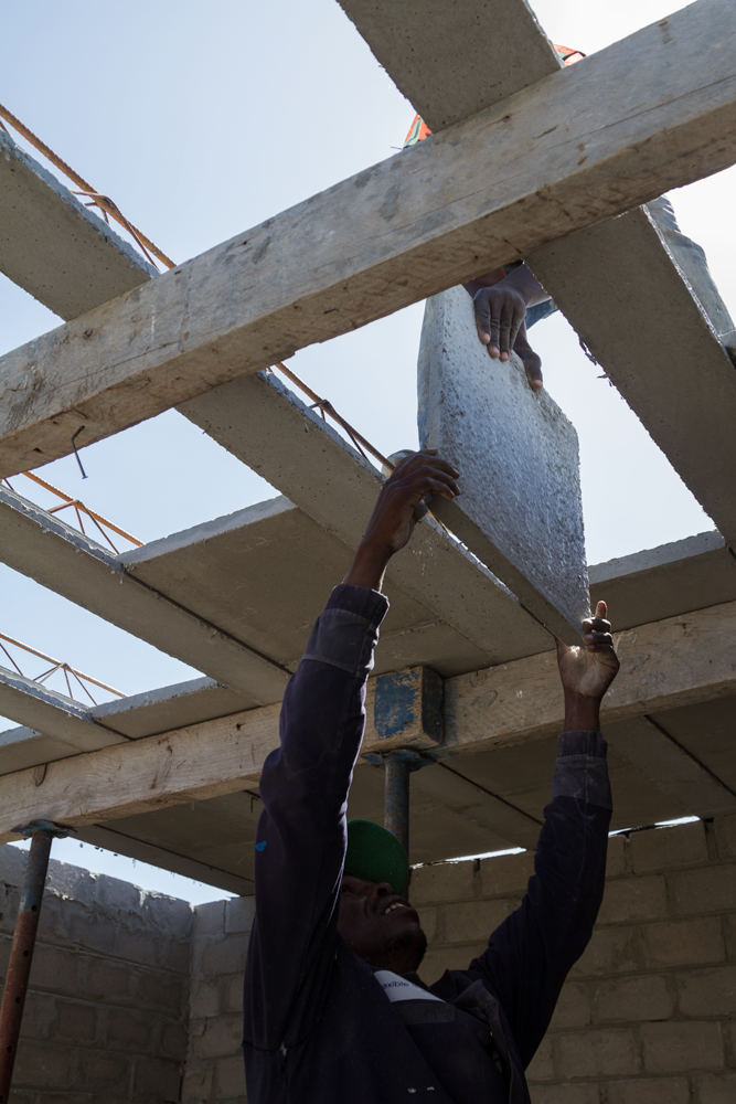 Residential Precast Concrete Slabs : Sellesa properties slab at hampton place — cobute