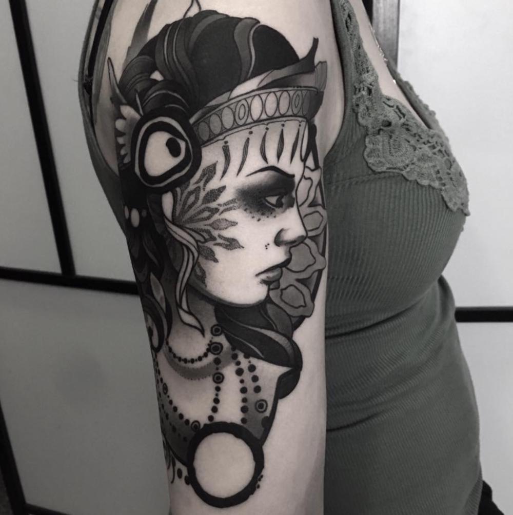 Tattoo por Nev Longobardo