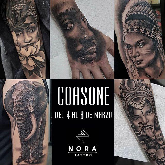 Próximo artista invitado!! Del 4 al 8 de marzo tendremos en @noratattoocoruna a nuestro amigo Javi, @coasone !! No te quedes sin tu cita!!🤘🏻🤘🏻 #noratattoostudio #noratattoocompostela #noratattoocoruna #tattoo #tattoolife #realistictattoo #guest #tattooguest