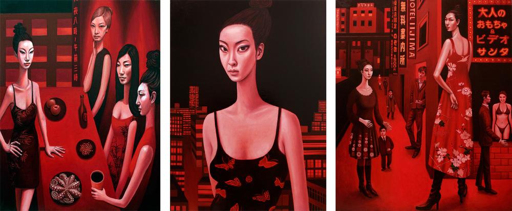 Kabukichou Triptych