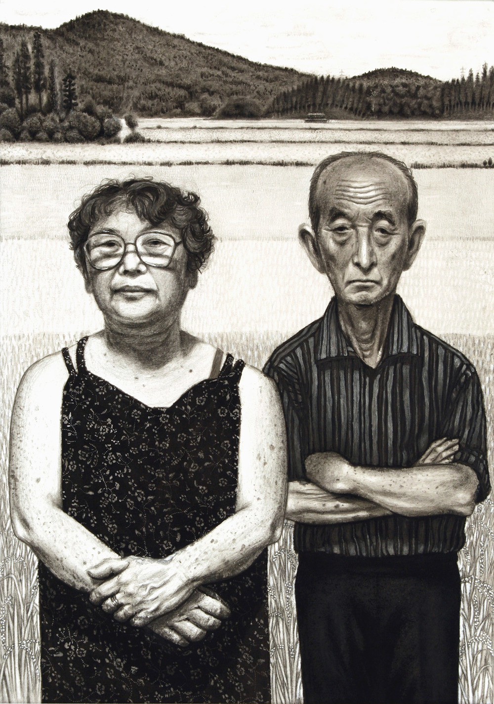 Rice Farmers Mr. & Mrs.Kawakami